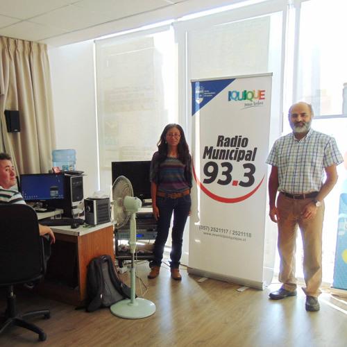 Entrevista a Luis Eduardo Vivero - Radio Municipal Iquique, abril 2015
