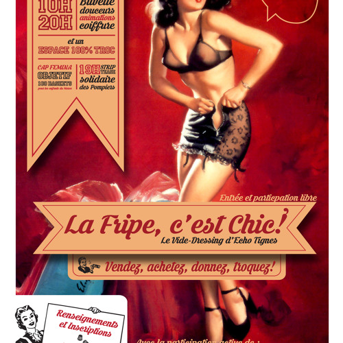 "R'Tignes ""La Frippe C'est Chic"""