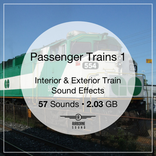 Passenger Trains Sound Effects 1 Preview Montage