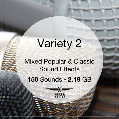 Variety 2 Sound Effects Collection Preview Montage 2