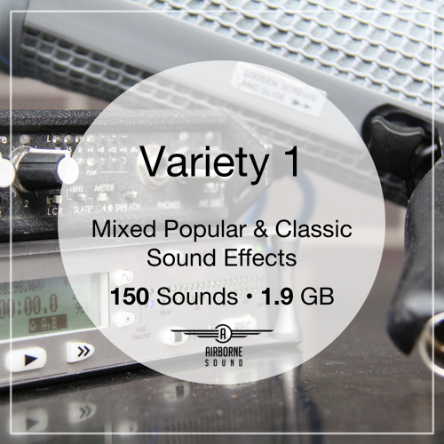 Variety 1 Sound Effects Collection Preview Montage