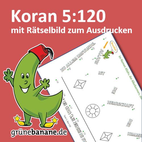 Koran 5 120 mit Ausmalbild