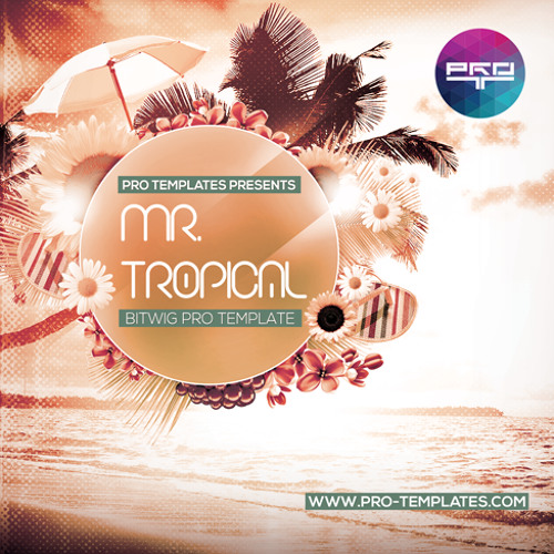 Mr.Tropical Bitwig Pro Template