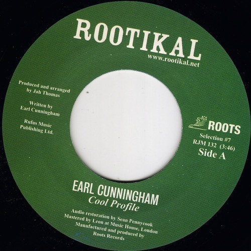 Earl Cunningham 'Cool Profile' Rootikal Selection