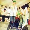Una cancion de los del grupo los de adentro ensayo en el colegio  a Sarid arteta de vasquez (clases de música )
