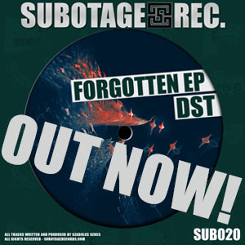 Forgotten // DST // SUB020_DST - Forgotten EP [Subotage Records]