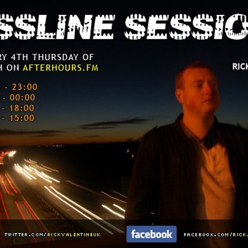 Rick Valentine - Bassline Sessions 079 (Live Recorded Special from Ciros, UK) 23-04-2015