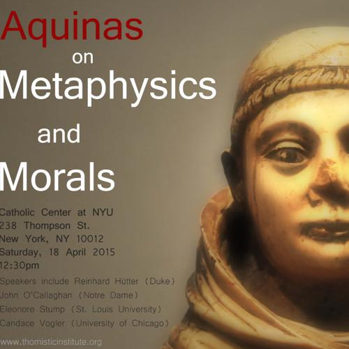 Dr. Candace Vogler (University of Chicago) Turning to Aquinas on Virtue April 2015