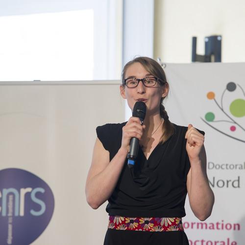 NÊ! interview Caroline Duc / Ma thèse en 180 s NPDC 2015