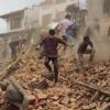 A massive earthquake hits many parts of India; Epicenter near Pokhara in Nepal
