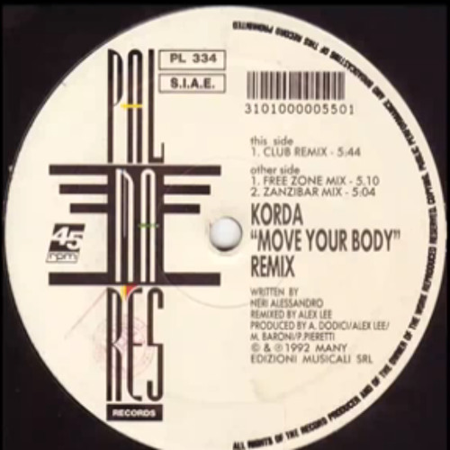 Korda - Move Your Body (Club Remix)