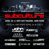 JOHN ASKEW LIVE AT SUBCULTURE NYC - BEST BUY THEATRE 25-04-2015