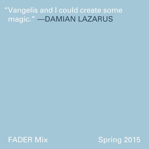 FADER Mix: Damian Lazarus