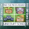 TryHardNinja - Find the Pieces (9001 BPM Remix) EDM [CaptainSparklez MINECRAFT SONG]