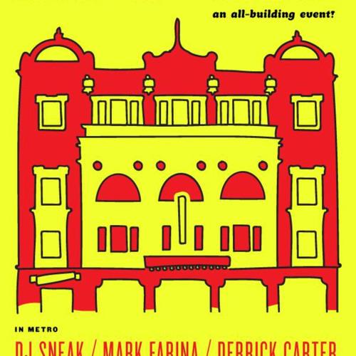 DJ Sneak + Derrick Carter + Mark Farina Heroes of House Metro 4 17 15 Chicago Pt. 2