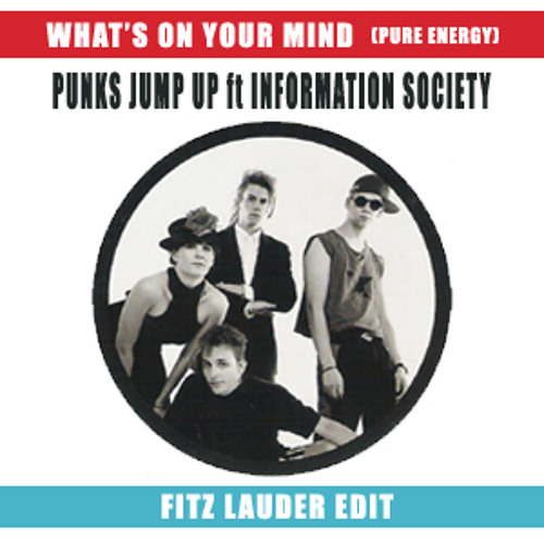 Punks Jump Up ft Information Society - What's On Your Mind (Pure Energy) (Fitz Lauder Edit)