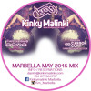 Kinky Malinki Marbella CD mixed by Carbon Copy - May 2015