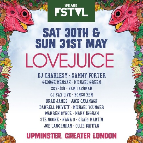 WE ARE LOVEJUICE MIX Vol 11: WE ARE FSTVL 2015