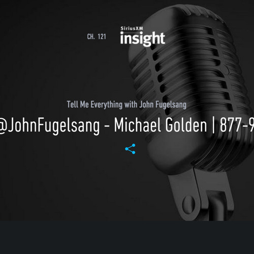 "John Fugelsang's ""Tell Me Eveything"" program on Sirius XM - Unlock Congress"