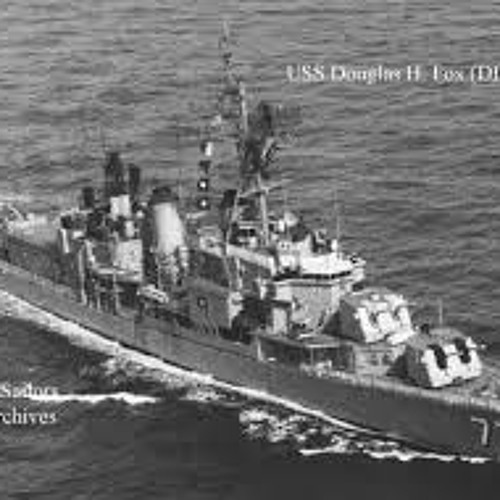"""The USS Douglas H. Fox""     12-25-2017"
