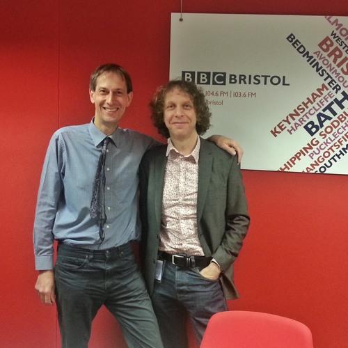 Steve Yabsley interviews Peter Domankiewicz on Radio Bristol 28-04-15