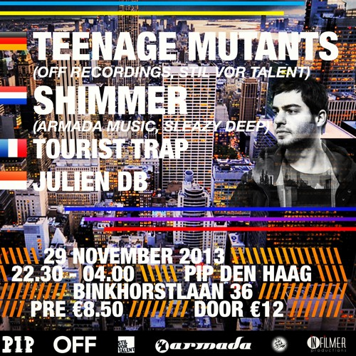 Teenage Mutants @ Deep Klassified vol. 3 | PIP Den Haag (NL) | Live set