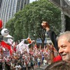 Lula discursa durante ato político do Dia do Trabalhador em São Paulo
