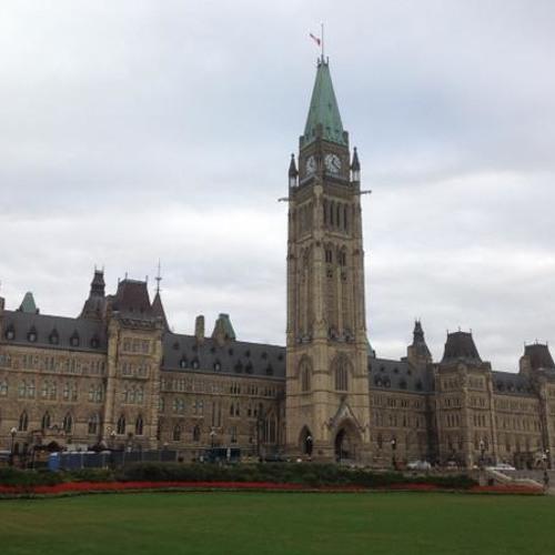 Jane's Walk on Parliament Hill