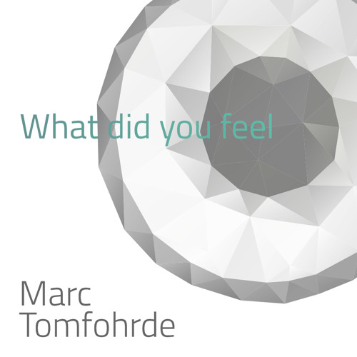 Marc Tomfohrde - What Did You Feel