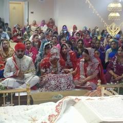 Bhai Gurbir Singh - thir ghar baisahu - Anand Karaj of Jaspal Singh and Rajwinder Kaur 31.03.14