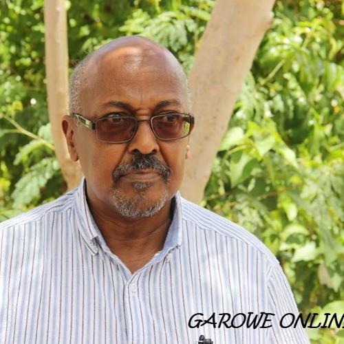 Siciid Faarax Yare oo ka hadley shir lagu qabanayo Garowe May 3,2015