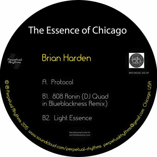 brian harden the essence of chicago ep by perpetual. Black Bedroom Furniture Sets. Home Design Ideas