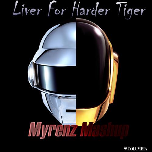 Daft Punk v.s R3hab v.s Headhunterz - Live For Harder Tiger (Myrenz Mashup)