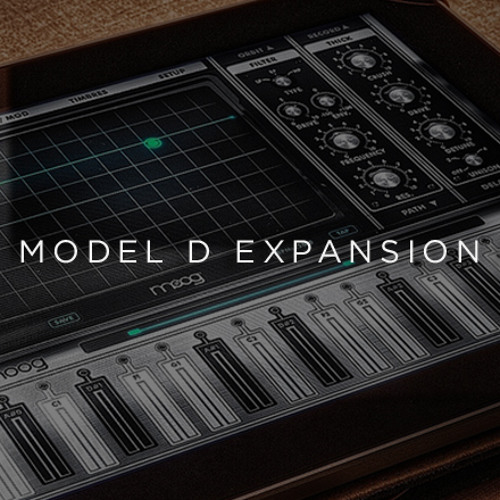 Minimoog Model D Expansion Pack- Fan Grill Piano