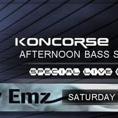 AFTERNOON BASS SESSIONS by Koncorse ft Lady Emz live @ Emergency fm - 4th April '15, UK (Clip)