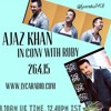 Ruby chats with Ajaz Khan