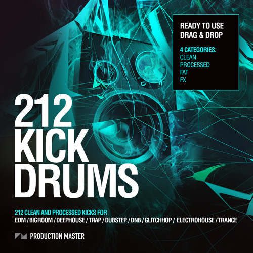 212 Kick Drums - Volume 1
