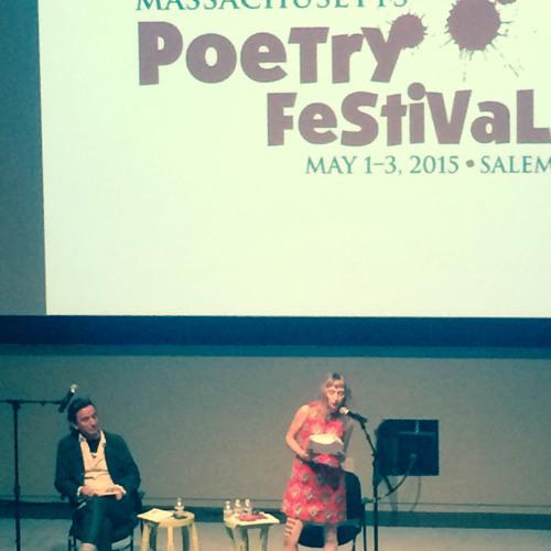 Nick Flynn + Beth Bachmann at Mass Poetry Festival