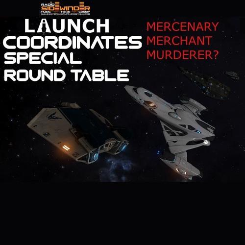 Radio Sidewinder - Launch Coordinates - Merchant * Mercenary * Murderer?