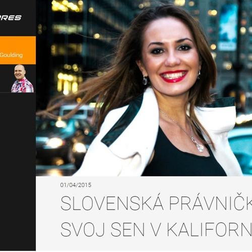 1.4.2015 - Rádio Expres: Marieta Oslanec, USA
