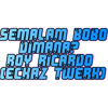 Semalam Bobo Dimana? - Eckaz ft Roy Ricardo(Twerk Bootleg)