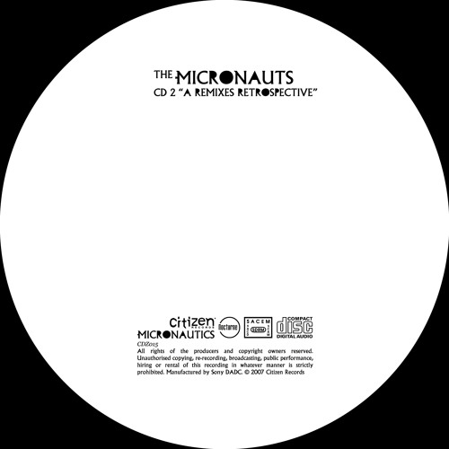 The Micronauts - A Remixes Retrospective