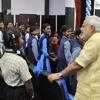 PM Modi's interaction (Q&A) with students at Education City, Jawanga in Dantewada