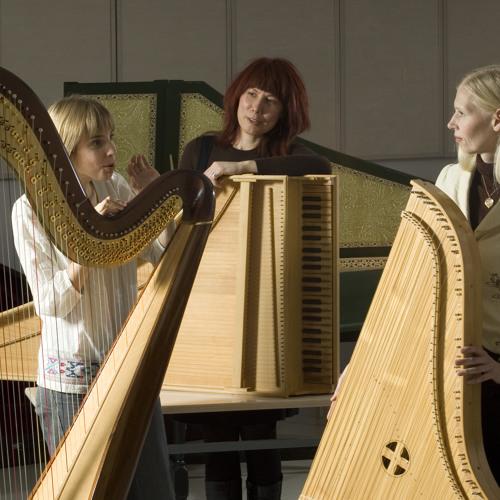 """Ester Mägi """"A Tre""""(1991), 1 part,  Una Corda´s arrangement"""