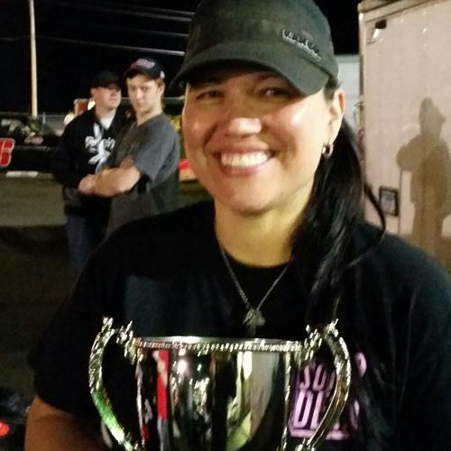 Tina Davis wins at Elko Speedway