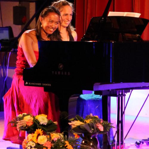 Duo Valérie Raveloson-Alice Rosset (Piano 4 Mains); Live 23/08/14 Festival Comme ça vous chante