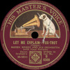 Marek Weber and his Orchestra - Let Me Explain - 1933