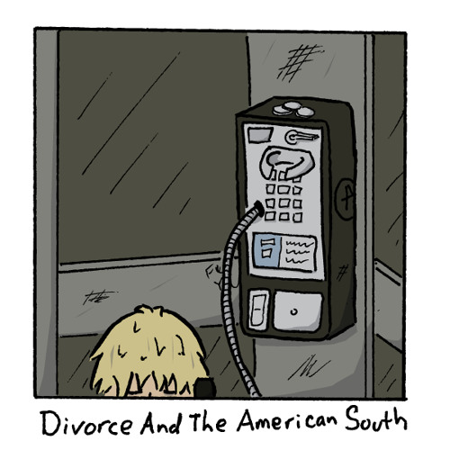 Divorce And The American South (cover)