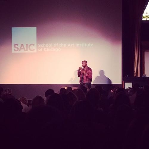 Kanye West Lecture at SAIC (May 2015)