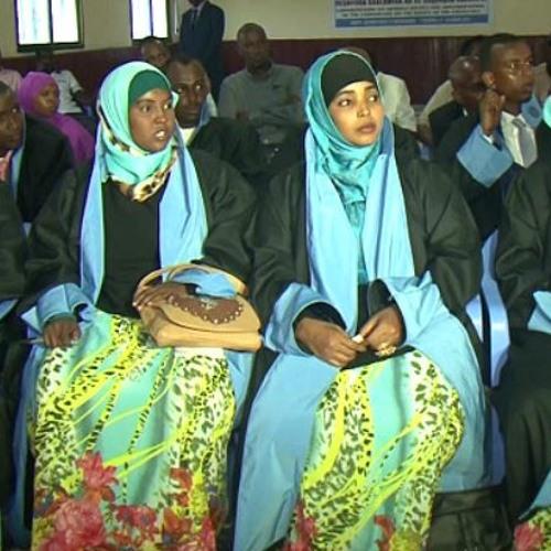 أول ست سيدات في النيابة العامة بالصومال